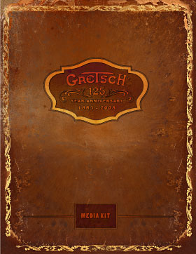 Gretsch 125th Media Kit